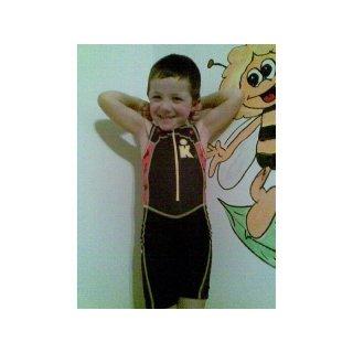 Ironman Einteiler Kinder Rot K1