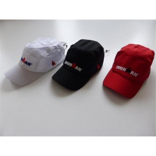 IRONMAN CAP Race 4 Farben Schwarz