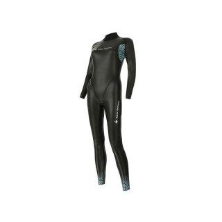Aqua Sphere Aqua Skin Damen (ab 12 Grad) Neoprenanzug Top-Kälteschutz ohne Auftrieb 1mm