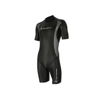 Aqua Sphere Aqua Skin Shorty Top Kälteschutz Herren Schwimmen Neoprenanzug 1mm M