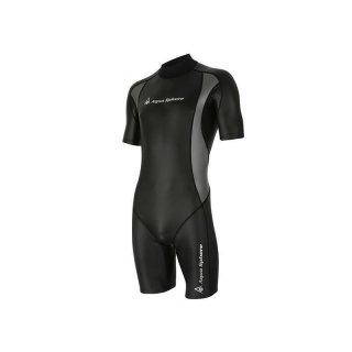 Aqua Sphere Aqua Skin Shorty Top Kälteschutz Herren Schwimmen Neoprenanzug 1mm L