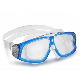 Aqua Sphere SEAL 2.0 blau, klare Scheibe Triathlon Schwimmbrille