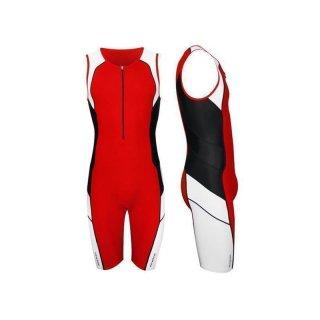 Triathlon Einteiler Newline Speed II  Korallenrot M